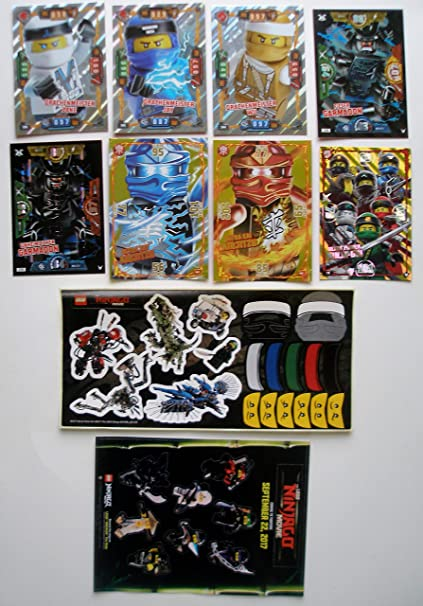 Lego Ninjago 9 XXL Tarjetas Ultra Power Jay, Fieser Oni ...