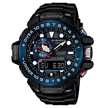 Amazon.com  Casio G-Shock GWN-1000B Master o G Series Stylish Watch ... 2727ec725