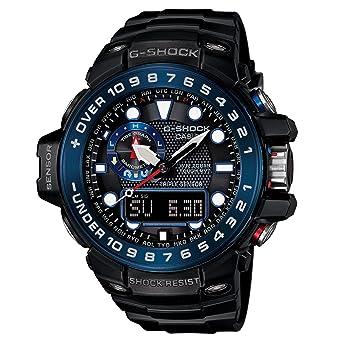 8073f0590605 Amazon.com  Casio G-Shock GWN-1000B Master o G Series Stylish Watch ...