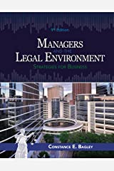 Managers and the Legal Environment: Strategies for Business Kindle Edition