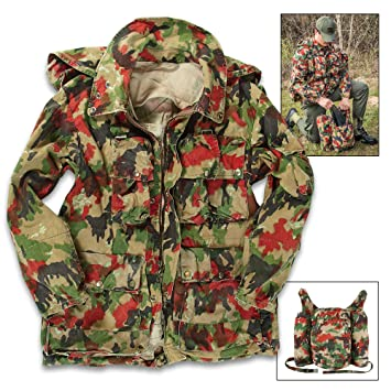Swiss Army M70 Field Jacket Coat with Rucksack Backpack - Genuine Military  Surplus  7424b5b64