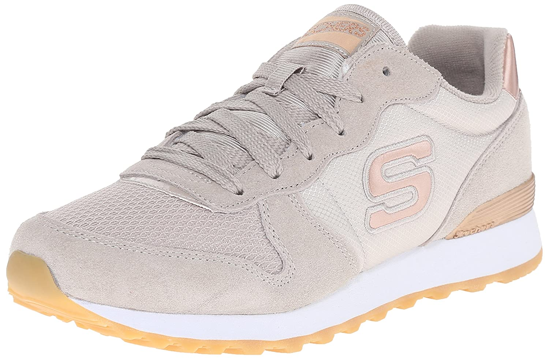 Skechers Originals OG 85 Goldn Gurl, Zapatillas Mujer 37 EU|Gris (Tpe)