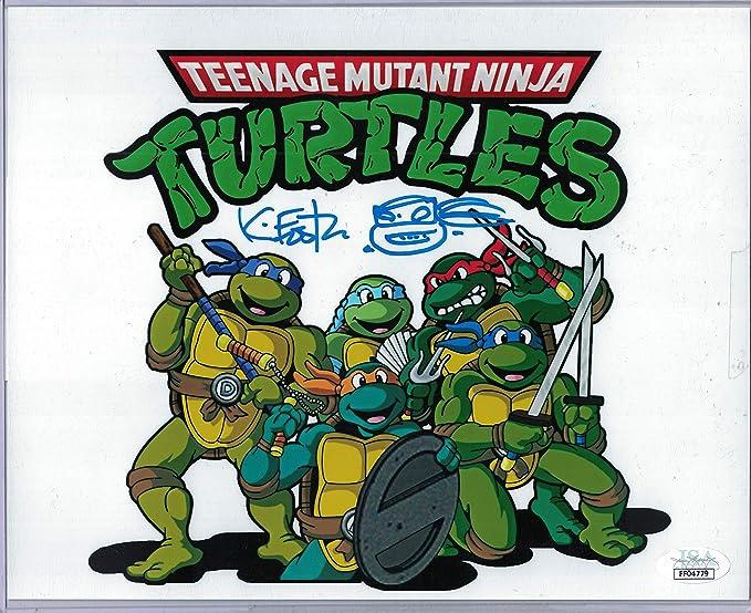 JSA Authentic Kevin Eastman Signed Teenage Mutant Ninja ...