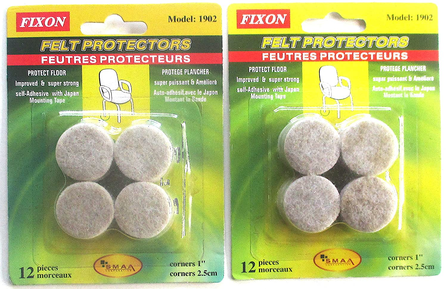 Self Stick Felt Pads for Furniture Protects Floor Felt Protector ...