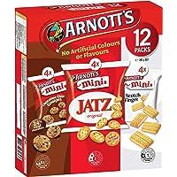 Arnott's Mini Choc Chip, Jatz and Scotch Finger Multipack, 292 g