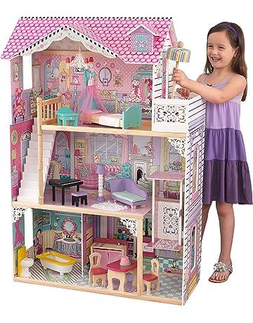 e7895ea85f3a00 KidKraft 65079 Maison de poupées en bois Annabelle incluant accessoires et  mobilier, 3 étages de