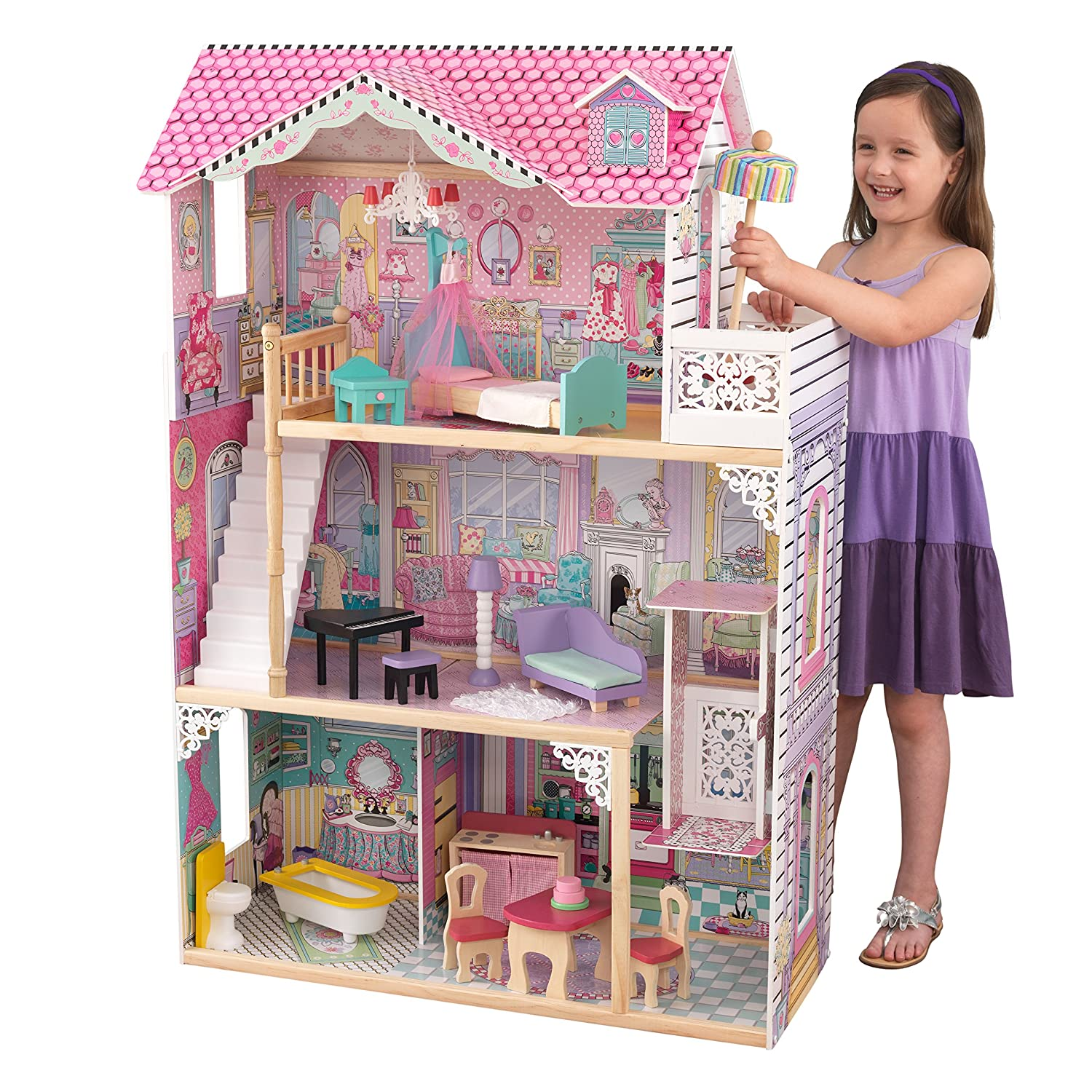 Top 9 Best Dollhouse for Toddlers Reviews in 2019 6