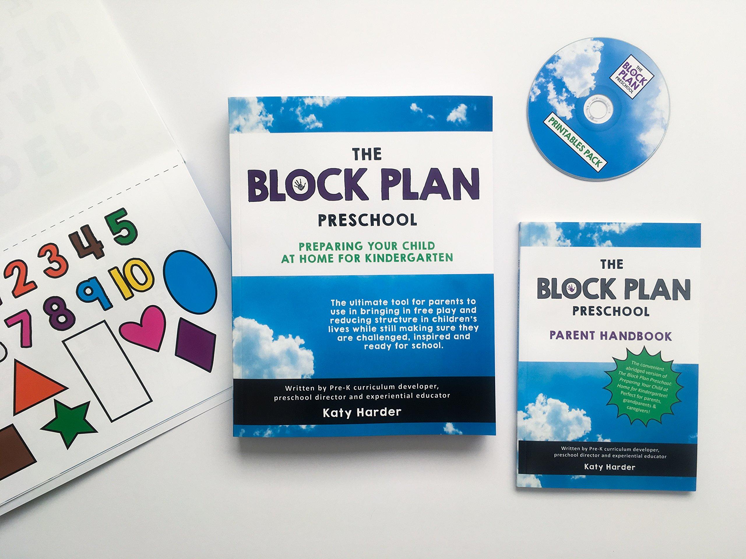 The Block Plan Preschool Curriculum Pack: Preparing Your Child at ...