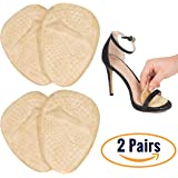 Metatarsal Pads for Women   Ball of Foot Cushions (2 Pairs Foot Pads) All Day Pain Relief and Comfort One Size Fits Shoe Inserts for Women