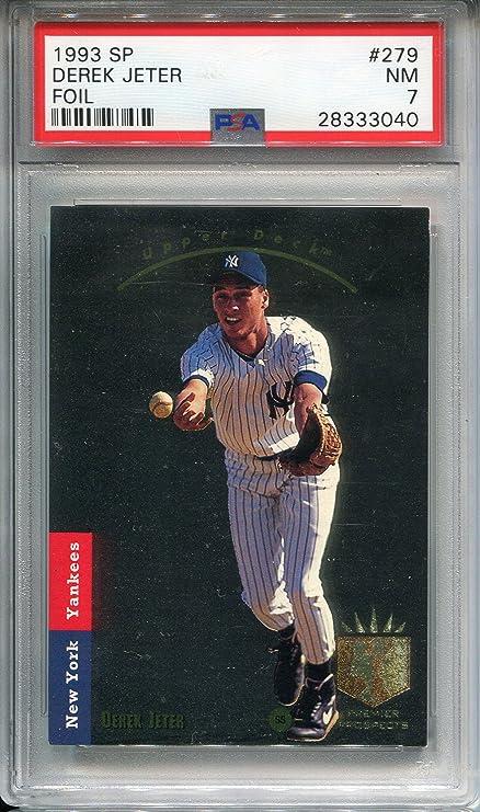 Rare 1993 Sp Upper Deck Derek Jeter Rookie Yankees Autograph
