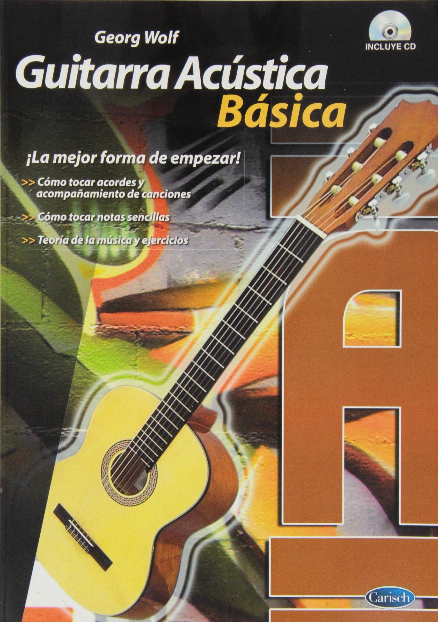 Guitarra Acústica Básico (Voggenreiter): Amazon.es: Wolf, Georg ...