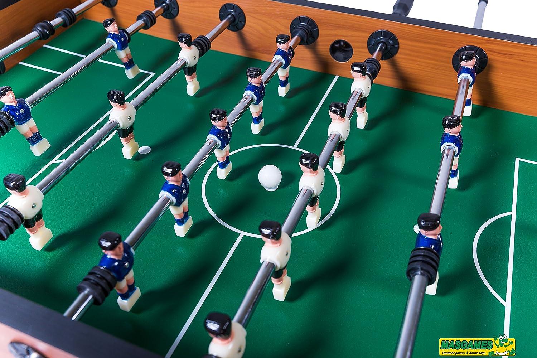 Masgames - Futbolín Maracaná: Amazon.es: Juguetes y juegos