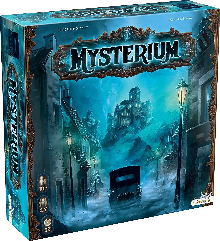 Asmodee- Mysterium, Juego de Mesa Edición Italiana, Color 8692: Amazon.es: Juguetes y juegos