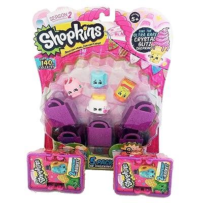 Shopkins Season 2 Bundle: 5 Pack & 2 Baskets: Toys & Games
