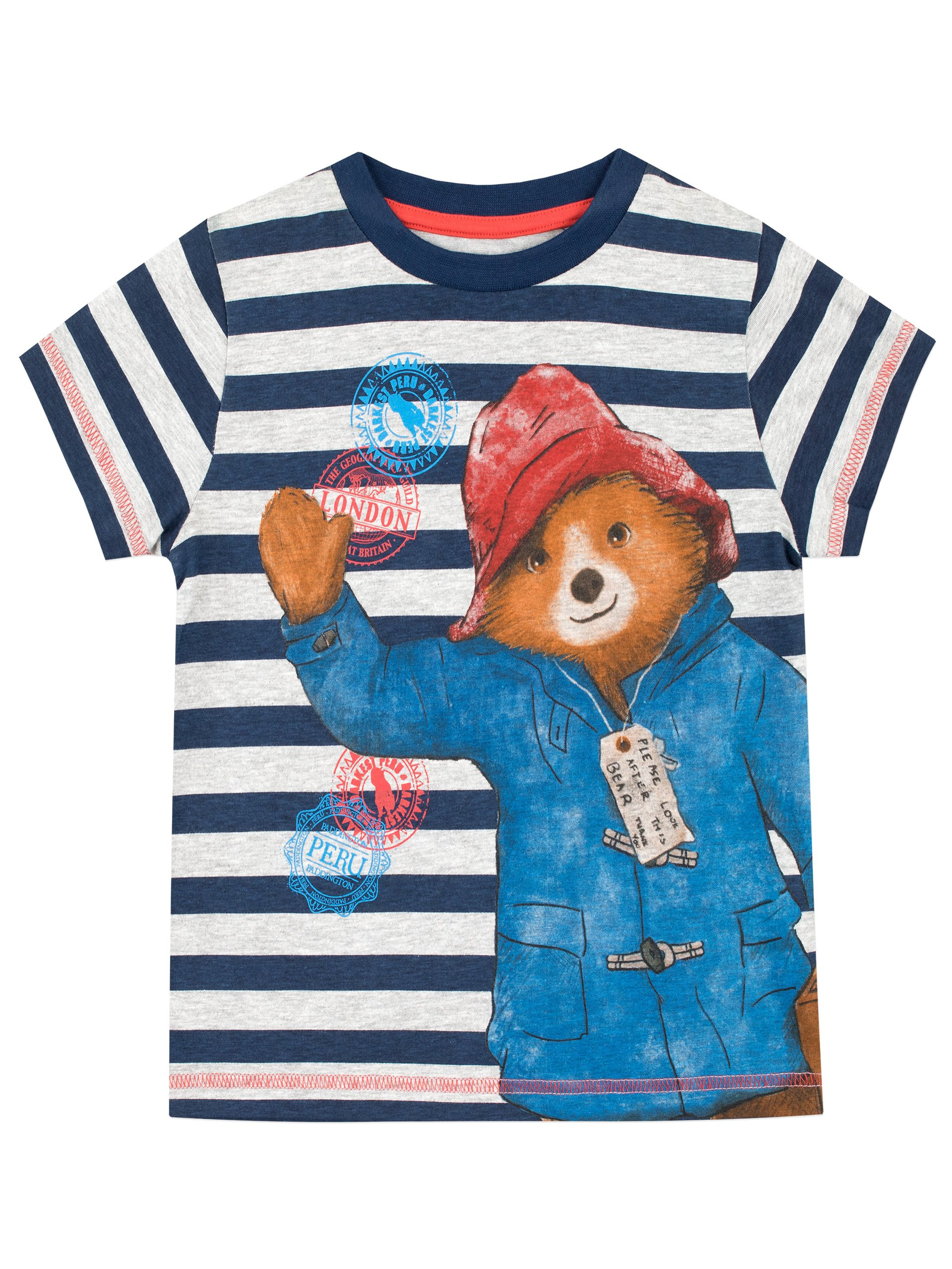 Paddington Bear Boys' T-Shirt Size 3T Multicolored