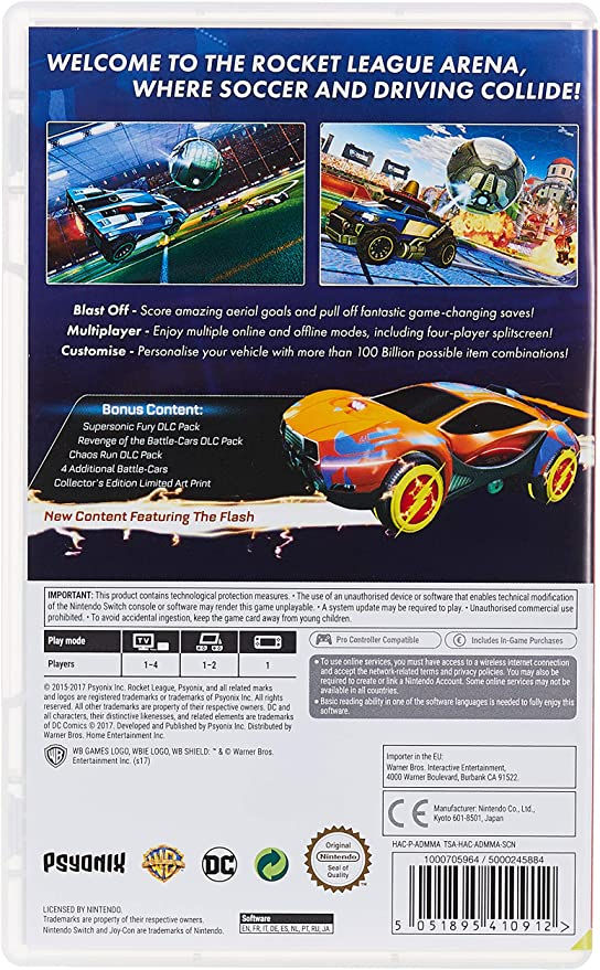 Rocket League: Collectors Edition (New Content Featuring The ...