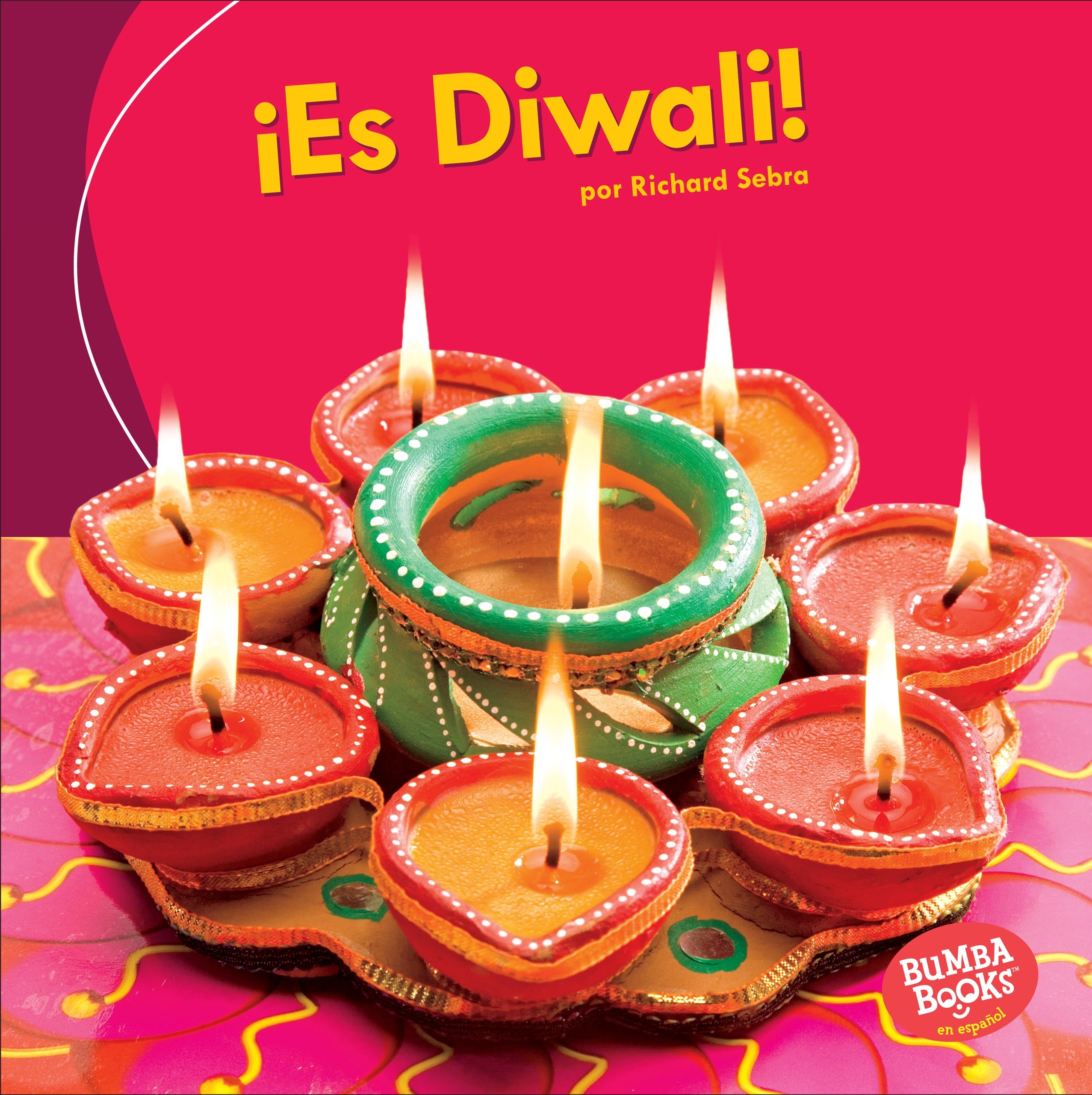 ¡Es Diwali! / It's Diwali! (Bumba Books en español - ¡Es una fiesta!/ It's a Holiday!) (Spanish Edition) by Ediciones Lerner (Image #1)