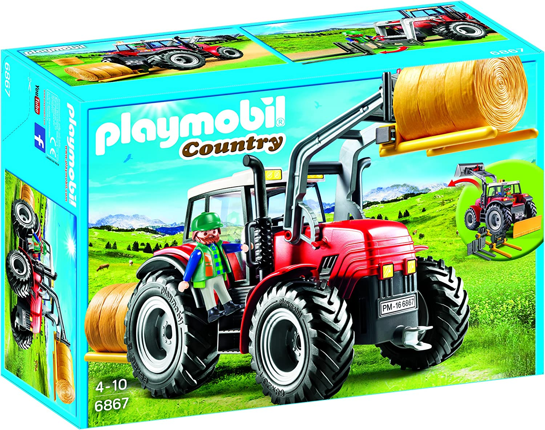 PLAYMOBIL Granja- Tractor, única (6867)