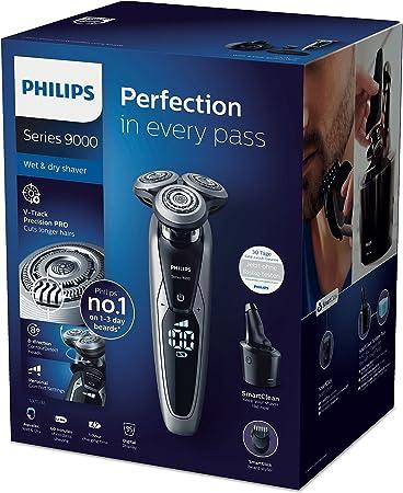 Philips Series 9000 Máquina de afeitar en húmedo y seco S9711/32 ...