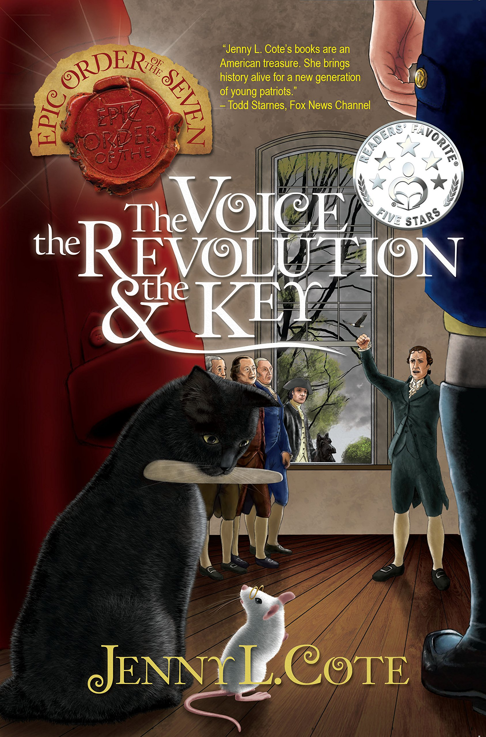 Amazon.com: The Voice, the Revolution and the Key (The Epic Order of the  Seven) (9780899577951): Jenny L. Cote: Books