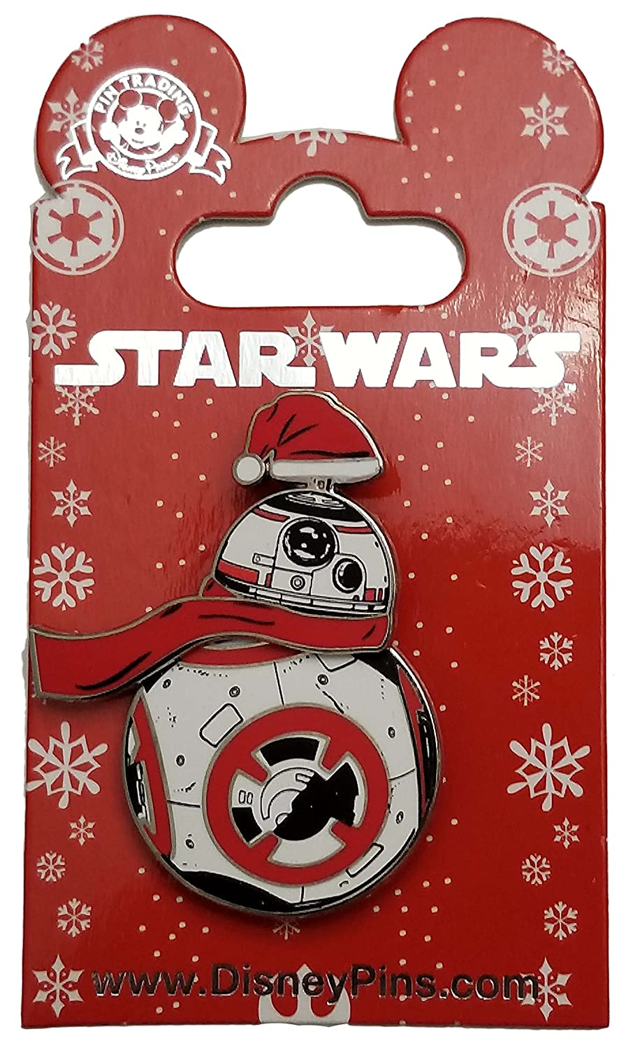 Disney Pin - Star Wars - BB-8 Santa Spinner