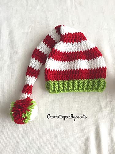 b4306430961 Amazon.com  Christmas baby hat