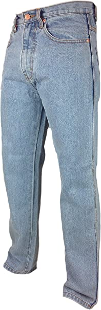 MENS NEW BOSTON STRONG TOUGH WORK CASUAL WORK JEANS BIG  46  INCH WAIST FULL FIT