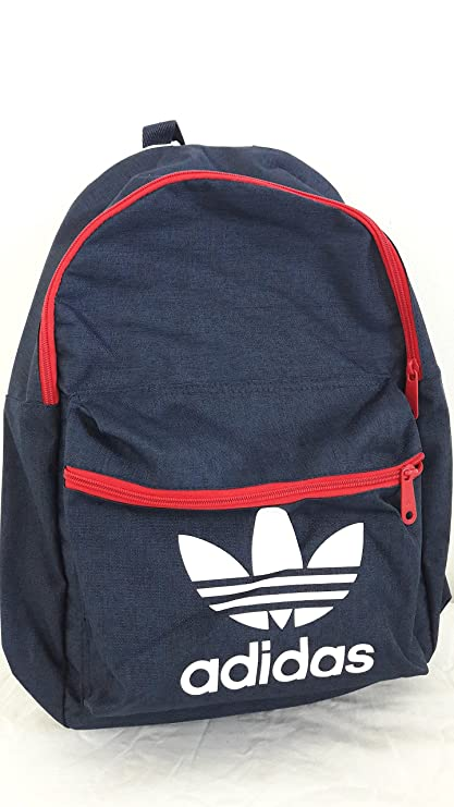 adidas Originals Trefoil Classic Backpack In Collegiate Navy-Lush Red- 6a61d324f3c02