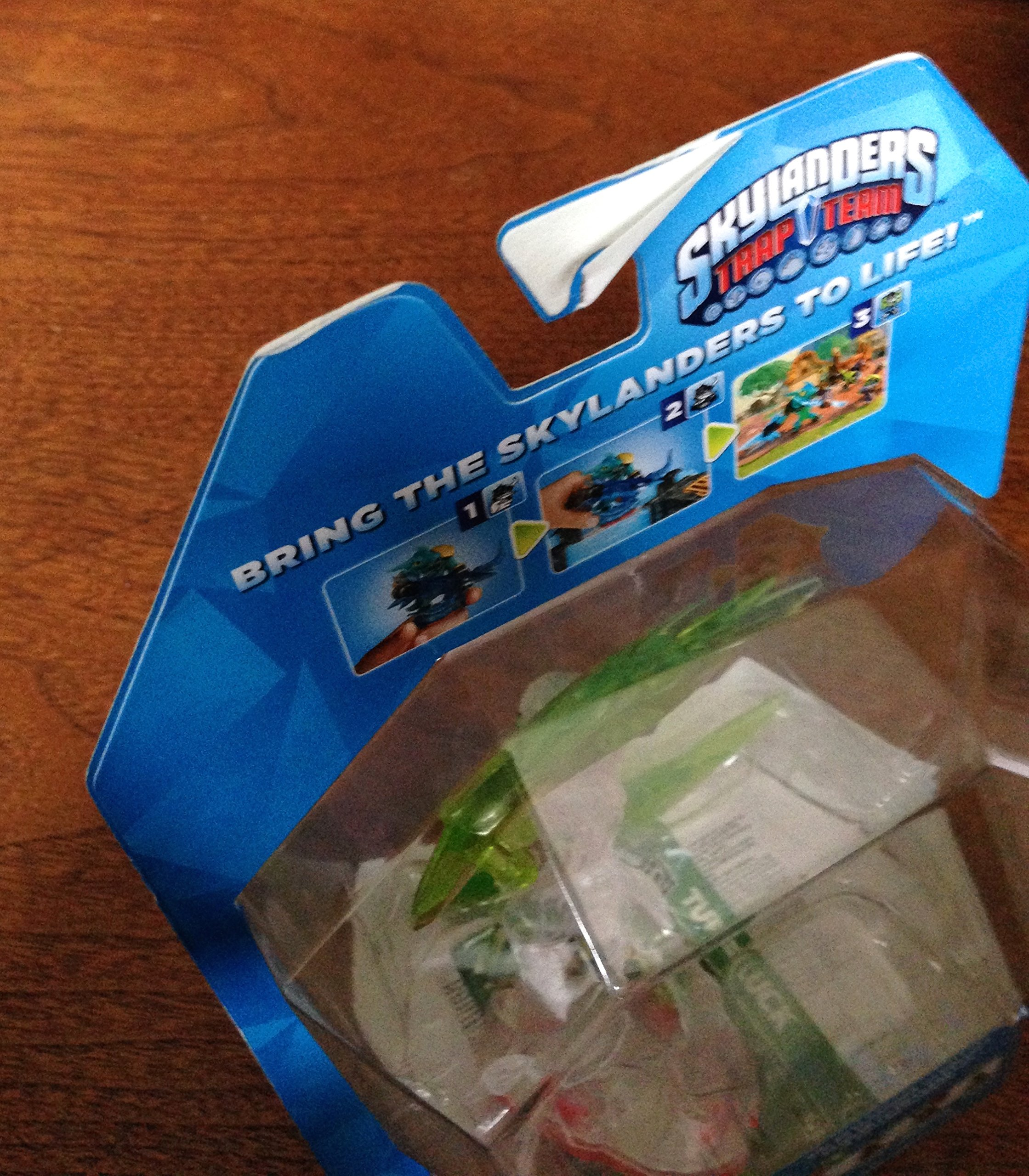 Skylanders Trap Team, Trap Master Tuff Luck Character Pack [Clear]