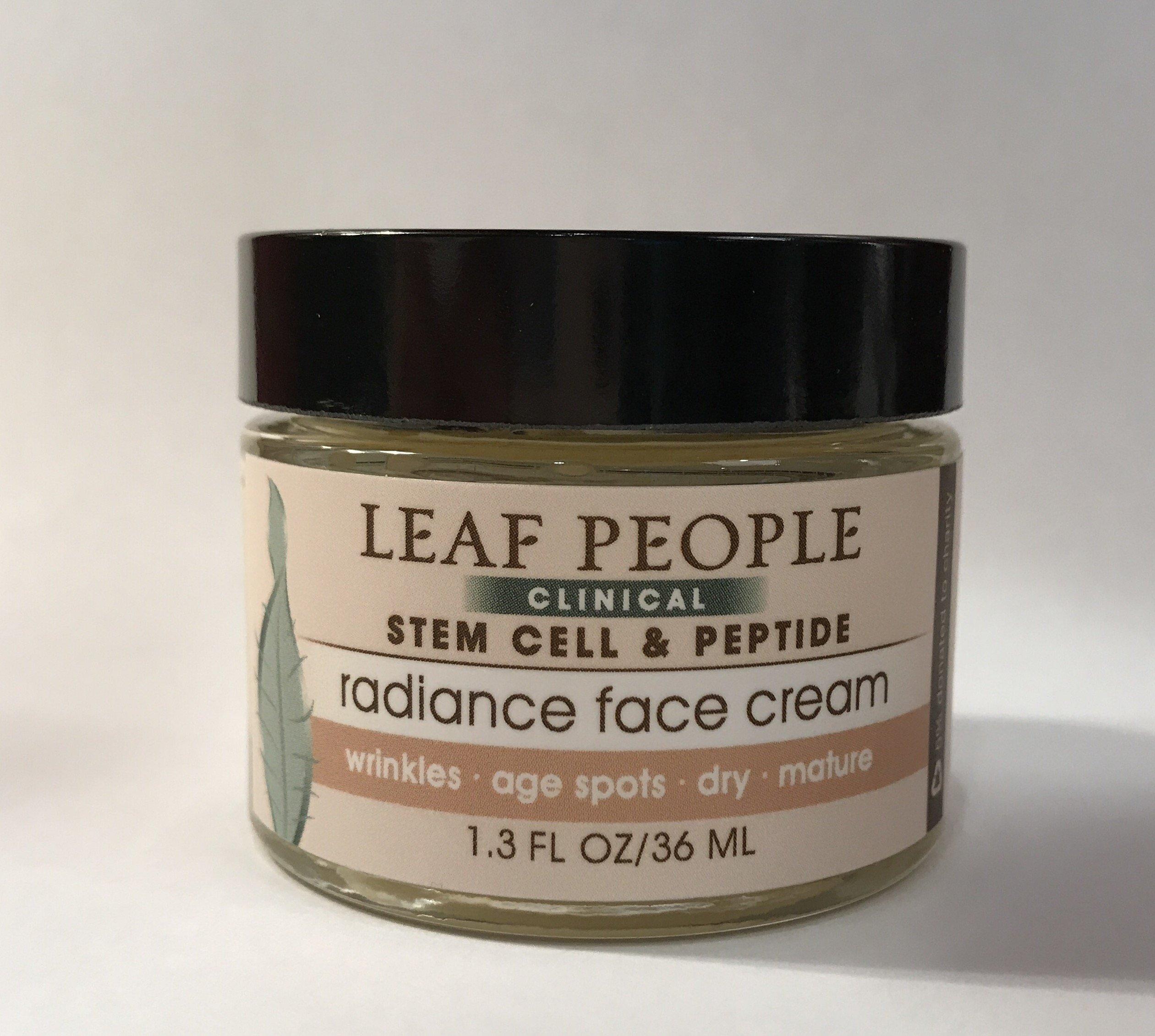 Stem Cell & Peptide Radiance Face Cream 1.3 oz.