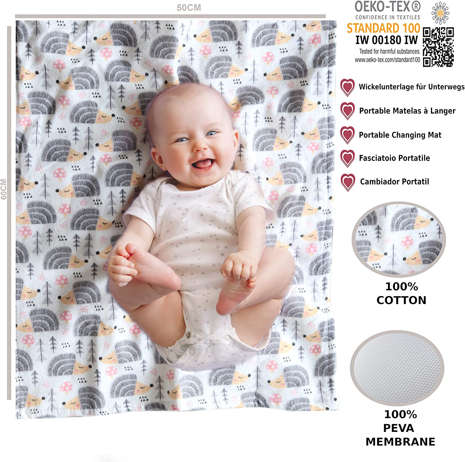 Unisex Large Muslin Cloths Baby 31 x 31 inch Muslin Squares White Portable Changing Mat Soft /& Absorbent Washable at 95/°C 5x Muslin Cloths for Baby 5x Flannel Burp Cloth 100/% Cotton