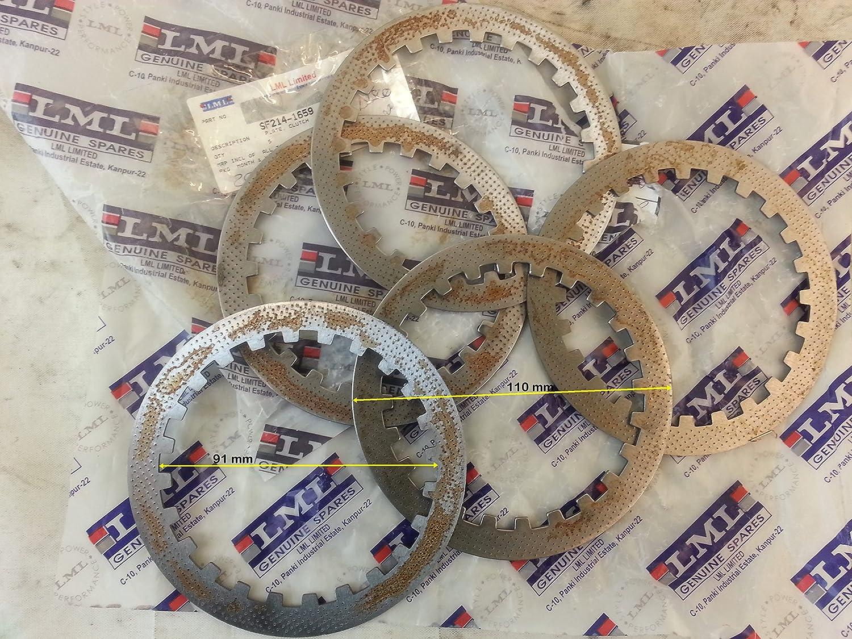 DISCO embrague hierro LML star 200 cc modelo SF 214-1659 4 tiempos