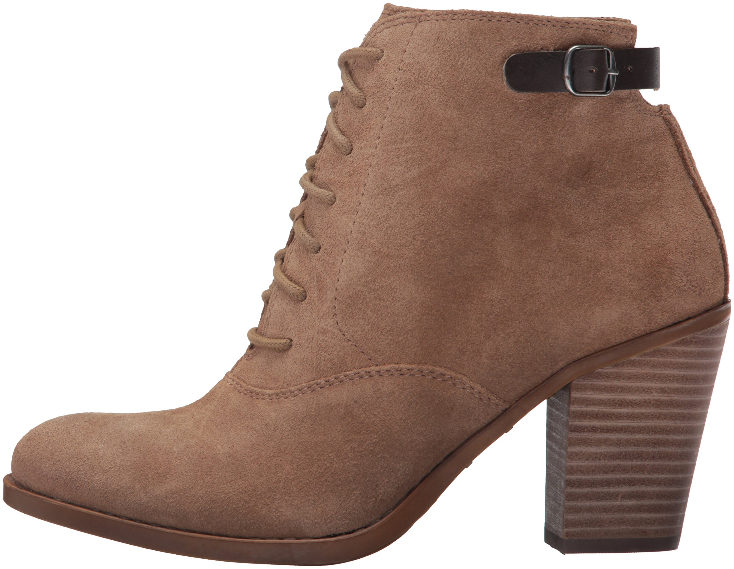 Lucky Brand Women's Echoh Ankle Bootie, Sesame, 10 M US by Lucky Brand (Image #5)