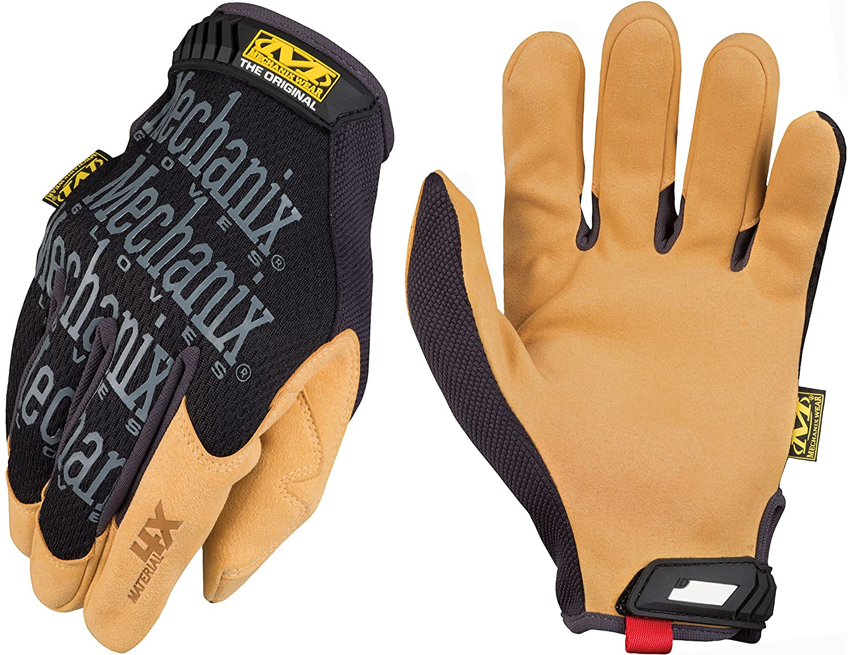 Mechanix Wear XX-Large, Noir//Marron Material4X Original Gants