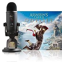 Deals on Blue Yeti Blackout + Assassins Creed Odyssey Bundle