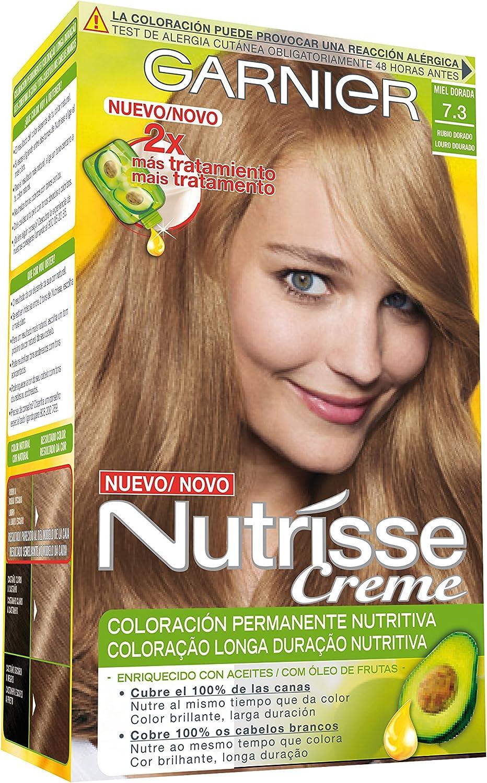 Garnier Nutrisse Coloración, Tono: 73 Miel Dore -1 Unidad ...