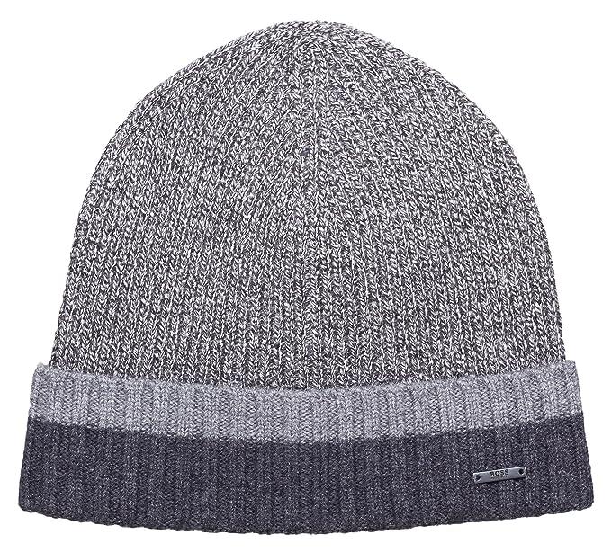 9036b89b1d3ae BOSS Hugo Men Hat Cap Frisk 02 50393137 Size ONE Size Black  Amazon ...