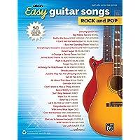 Alfred's Easy Guitar Songs -- Rock & Pop: