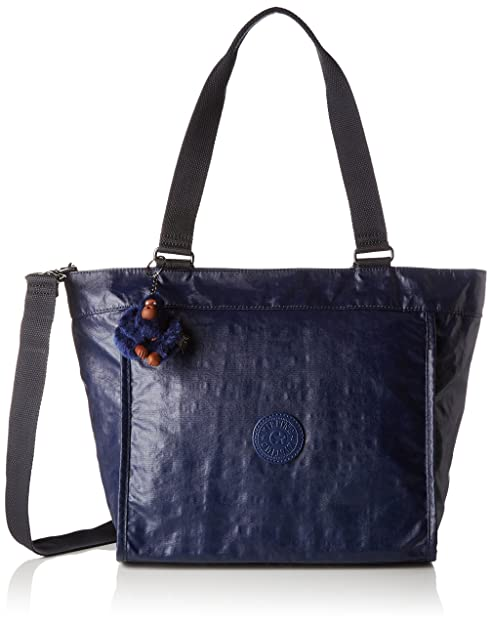 e8a346589 Kipling - New Shopper S, Bolsos totes Mujer, Blau (Lacquer Indigo ...