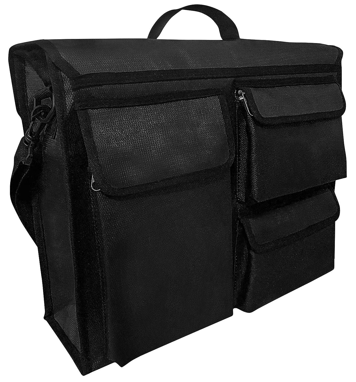 genialkiki 2PCs//Set Motorcycle Bags Leather Motorbike Saddle Bag Motorbike Panniers Waterproof Travel Luggage Bagstail package Black//Brown
