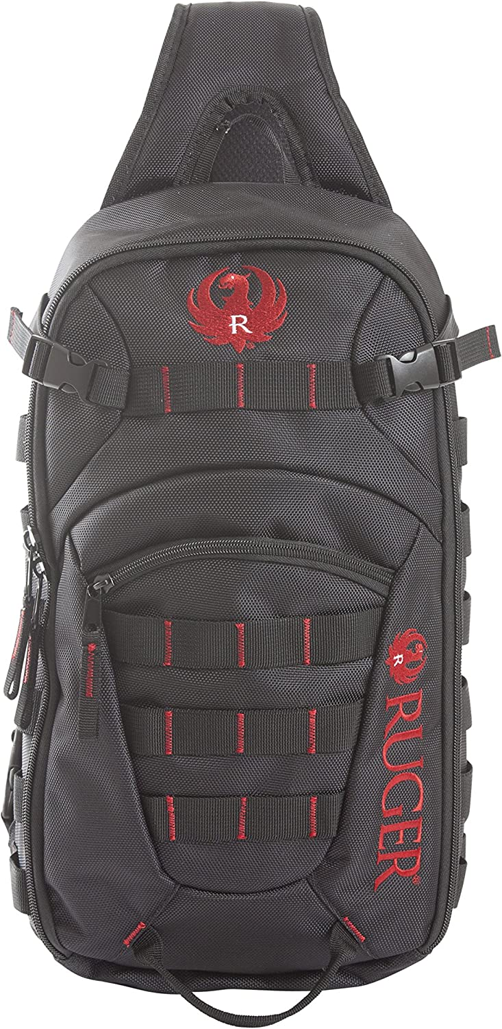 Allen Company Ruger Glendale Sing Pack, 700 Cubic Inches, Black/Red