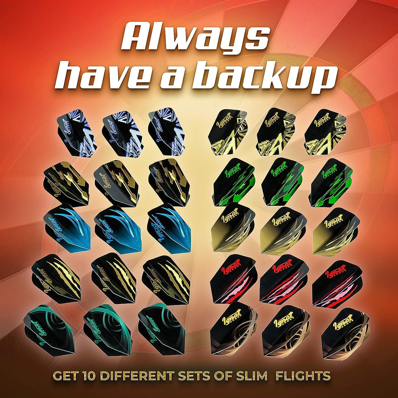16Pcs Dart Wing Protector Dartboard Darts Flights Saver Accessories Games 2Set