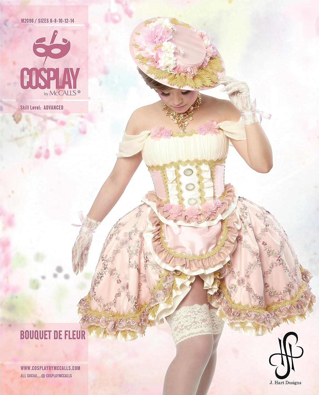 Cosplay por MCCALL s Ramo de Fleur Corseted Top/Delantal Falda y ...
