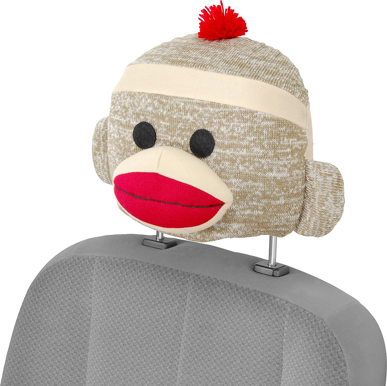 Amazon.com: Bell Automotive 22-1-56705-8 Sock Monkey Seat Caps ...