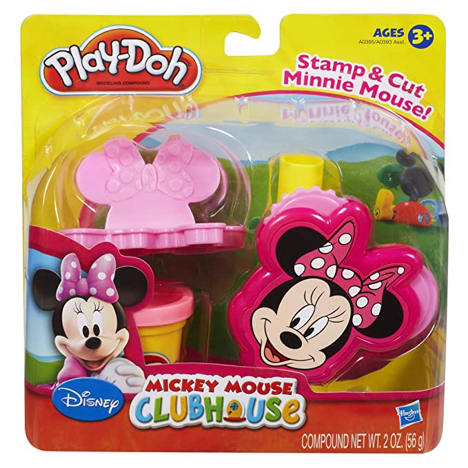 PLAY-DOH MICKEY MOUSE CLUBHOUSE SET (MINNIE): Amazon.es: Juguetes y juegos