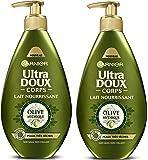 Garnier Ultra Doux Corps Lait Nourrissant Peaux très Sèches Olive Mythique 250 ml Lot de 2 x 250 ml