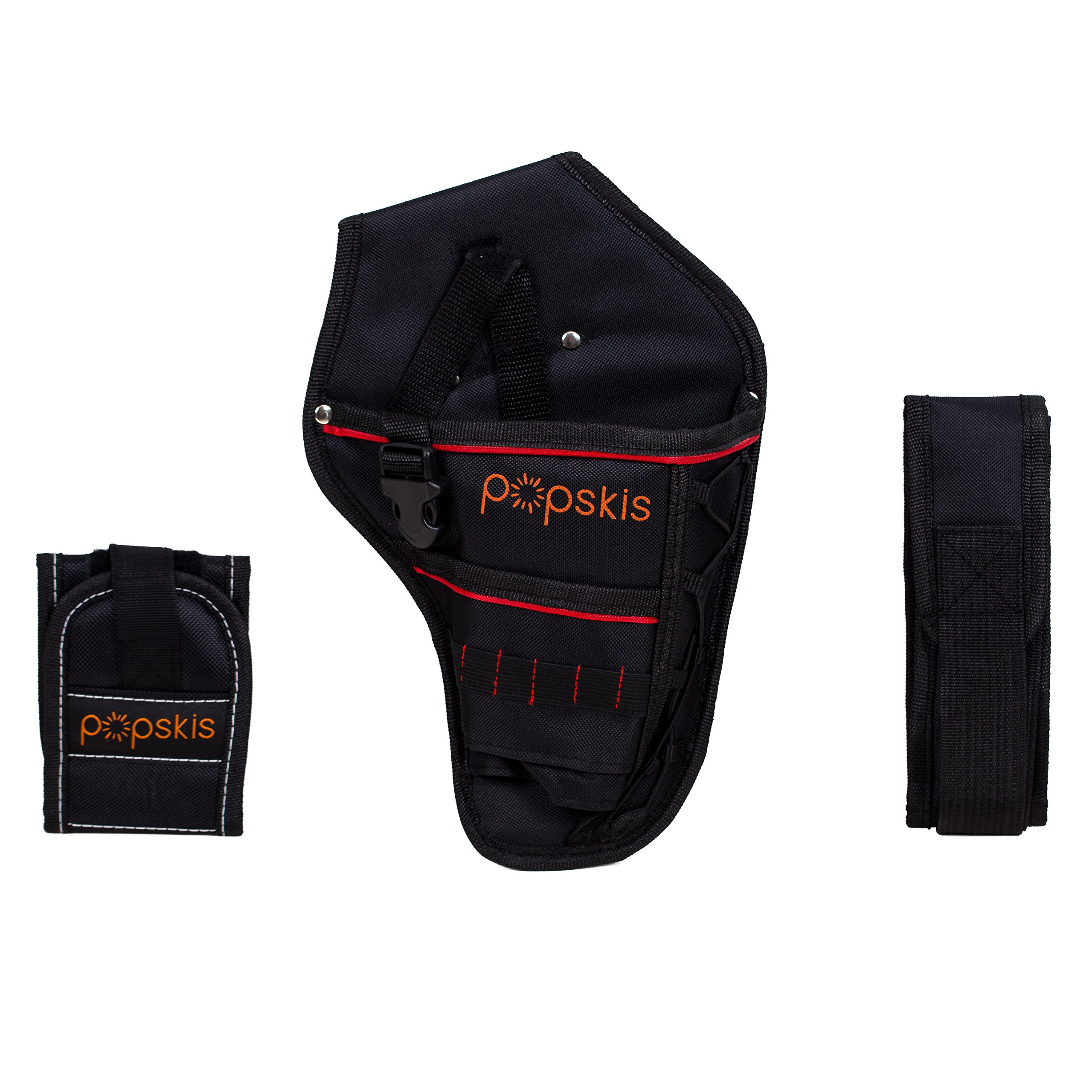 Cordless Drill Holster With Adjustable Belt & Magnetic Wristband Accessories Holds Light Battery Tools Screws Nuts Bolts Drill Bits by pOpskis (Image #2)