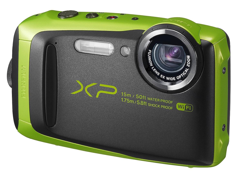 FUJIFILM デジタルカメラ XP90 防水 ライム FX-XP90LM  ライム B01AN86FXE