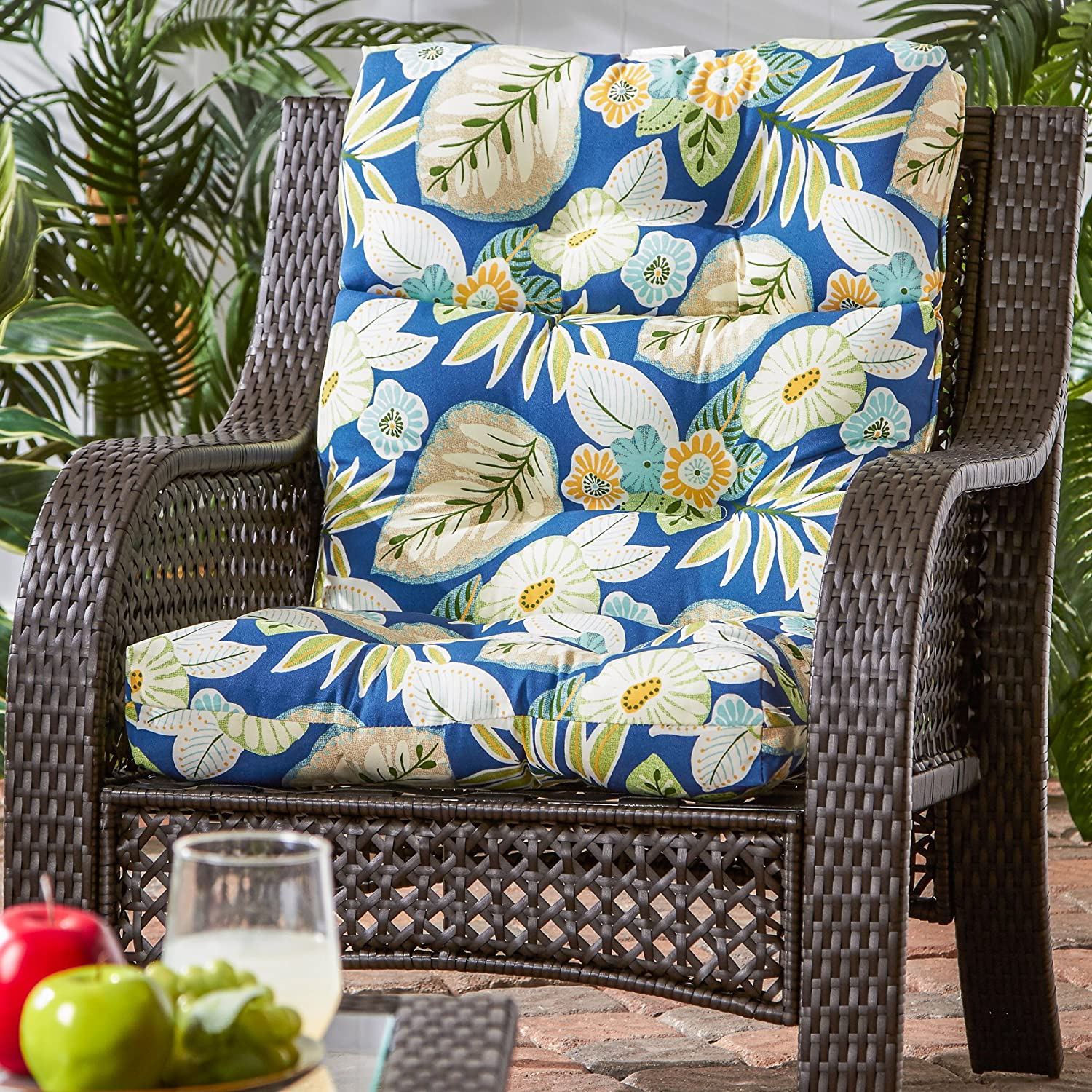Amazon Greendale Home Fashions Indoor Outdoor High Back
