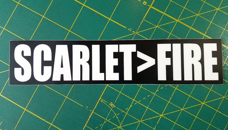 Vinyl Decal Grateful Dead SCARLETFIRE